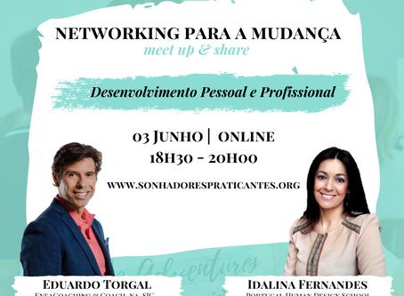 Como trabalhar o desenvolvimento pessoal e profissional? Networking para a Mudança 3/06 online