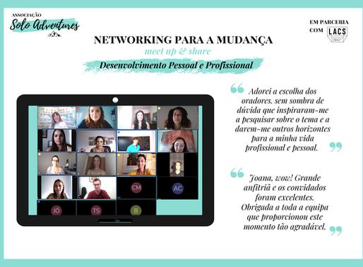 Desenvolvimento Pessoal e Profissional no evento de Networking para a mudança