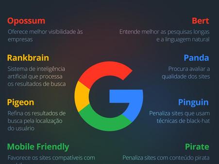 Marketing Shot 💉Algoritmos do Google