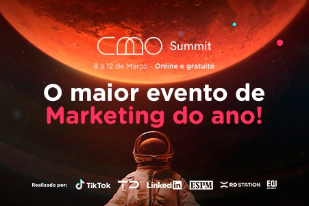 CMO Summit, promete o maior evento de marketing da galáxia