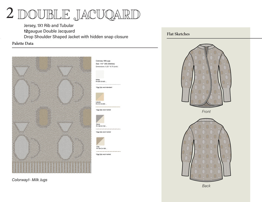 2. Double Jacuqard
