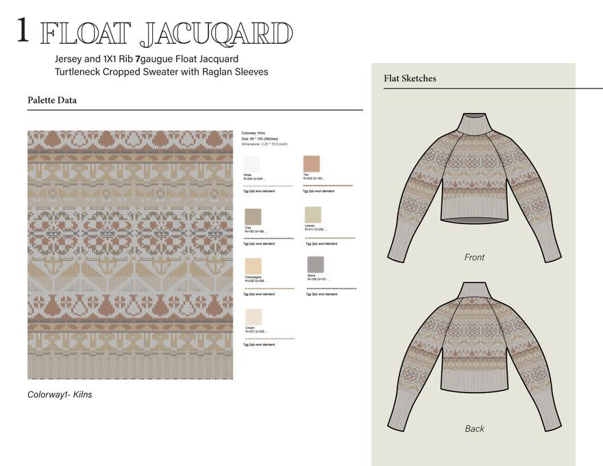 1. Float Jacuqard