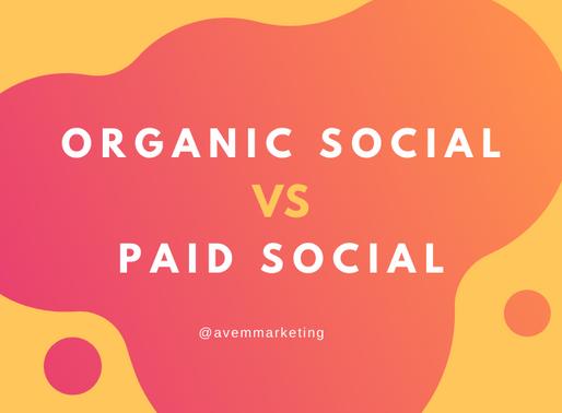 Organic Social vs Paid Social