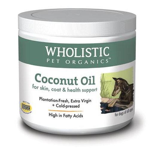 Wholistic Organics Coconut Oil 8oz