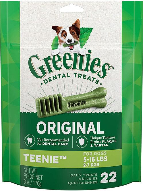 "22 Count ""Teenie"" Greenies Original 6oz"