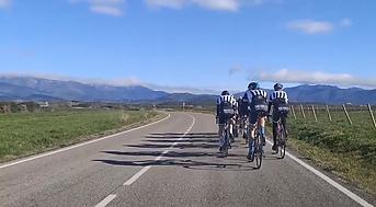 Nos scoïstes sur les routes espagnoles !