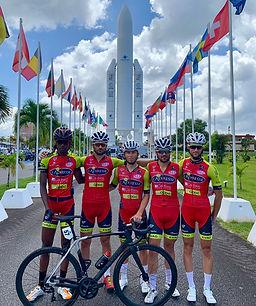 Effectif EVAD participant au Tour de Guyane 2019