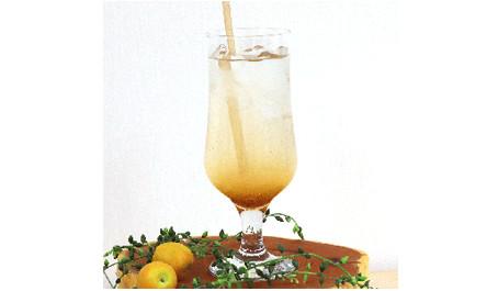 毎週月曜更新中!松本堂レシピ 〈梅酢deハイボール〉