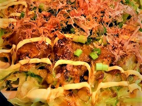 毎週月曜日更新中!松本堂レシピ〈お好み焼き〉