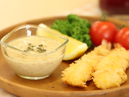 毎週月曜日更新中!松本堂レシピ 〈果実酢タルタルソース〉