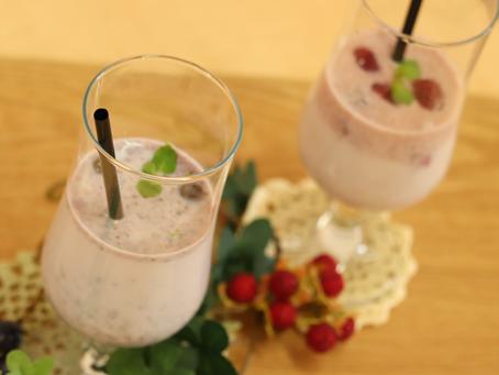 毎週月曜日更新中!松本堂レシピ 〈のむお酢の牛乳割り〉