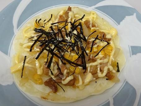 毎週月曜日更新中!松本堂レシピ〈照り焼きチキンピザ〉