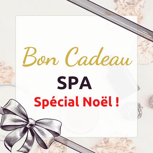 Bon cadeau Spa Spécial Noël