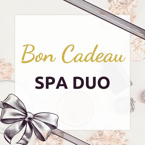 Bon cadeau Spa Duo