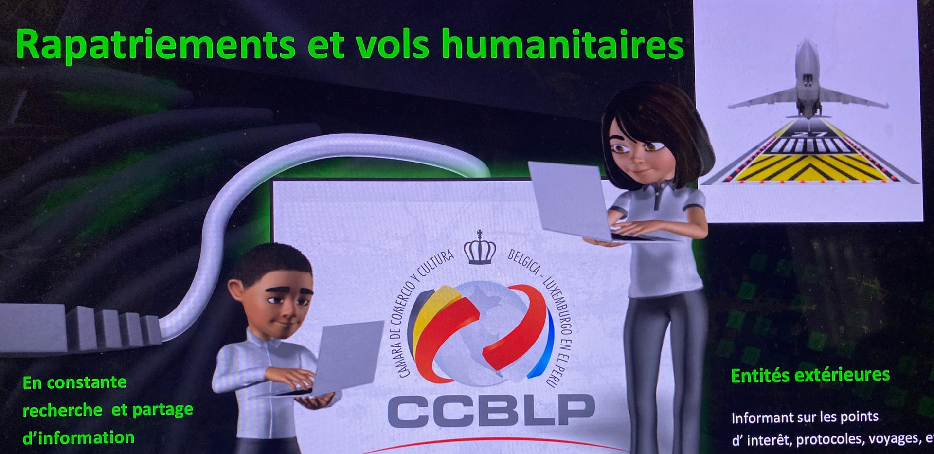 Comunicaciones a residentes Europeos y otros sobre vuelos de repatriación ntre Europa y Perú