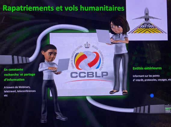 Vuelos humanitarios de repatriación