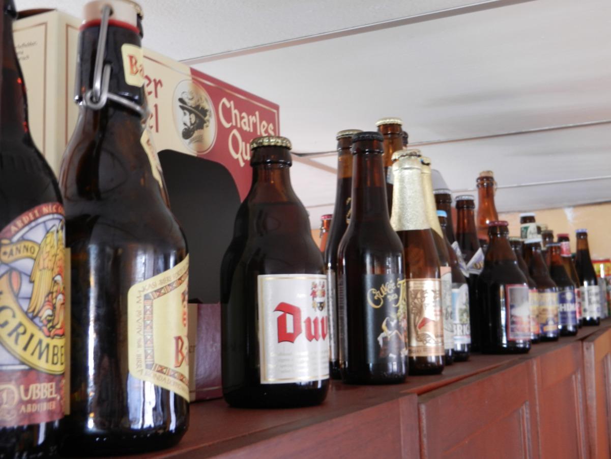 Des bières Belges
