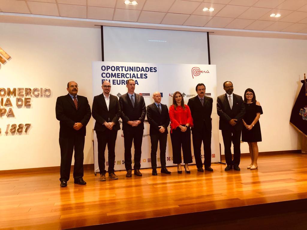U.E- EuroCámaras, PromPeru, Cámara de Arequipa, Empresas