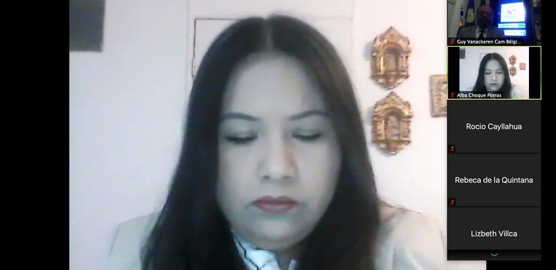 Doctora Alba Choque Porras