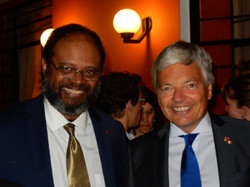 With M. Didier Reynders Minister
