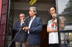 Avec M. Manuela Pulgar Vidal