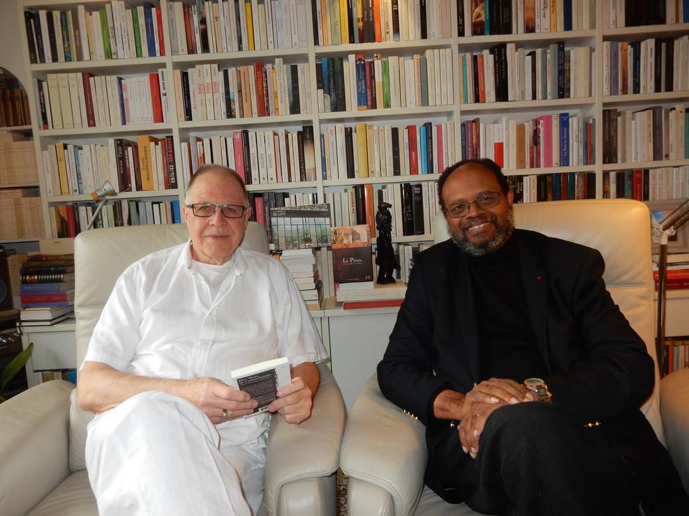 Met de Heer Willy Lefèvre de grote specialist in literatuur