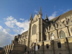 Sainte Waudru à Mons