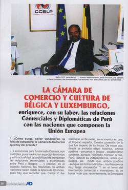 Eurocamaras President Cámara CCBLP