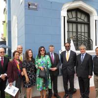 Ambassade, Chambre de Belgique et du Luxembourg et APeBelga