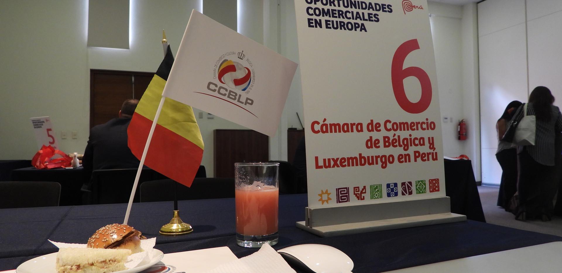 Mesa Cámara de Bélgica & Luxemburgo