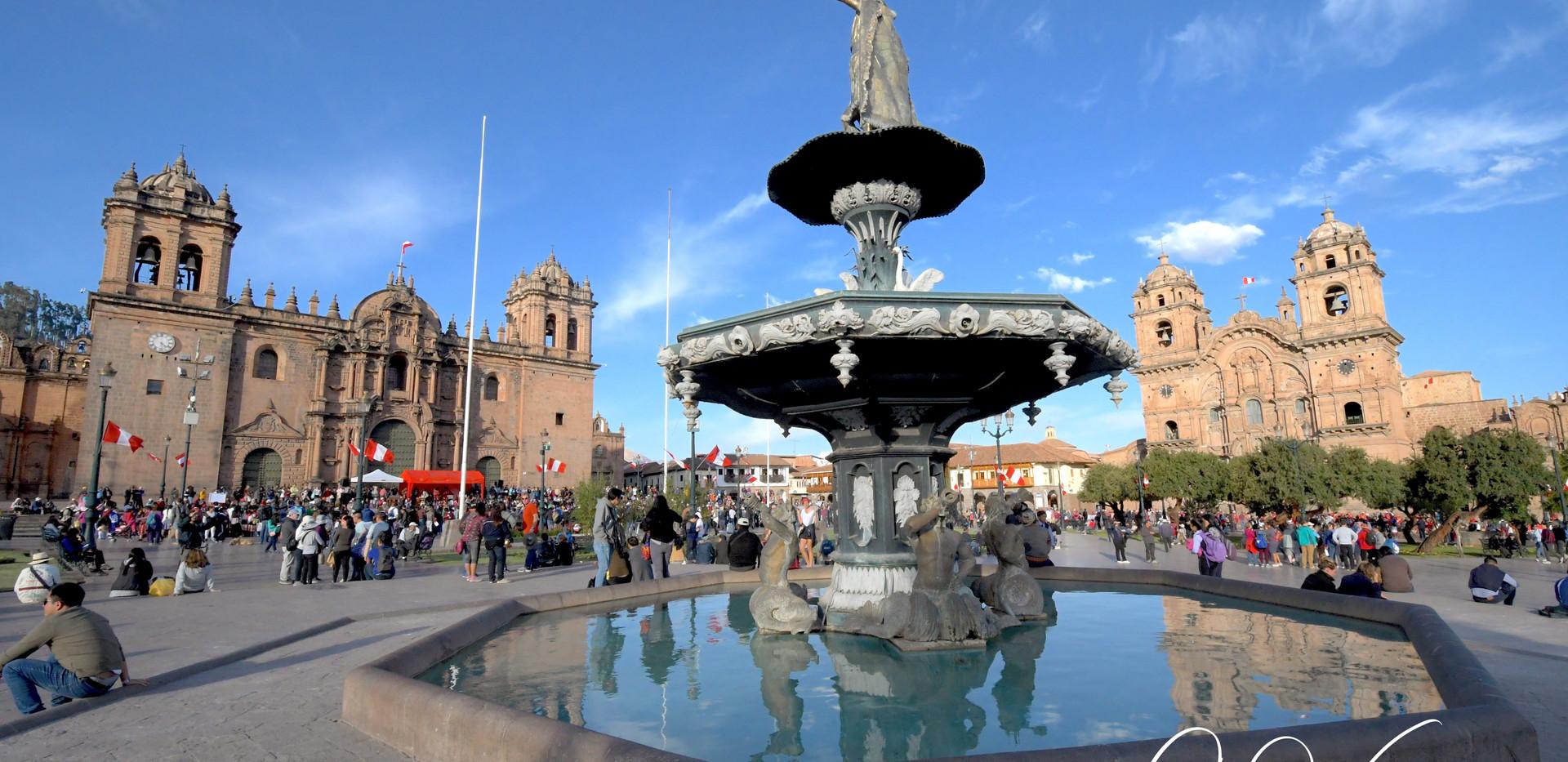 Aucaypata/place d'Armes de Cusco
