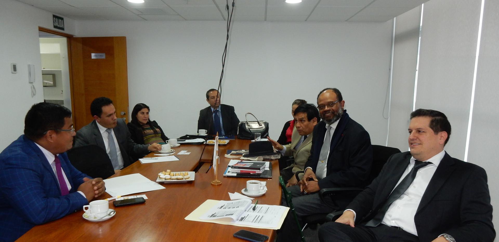 Alcander - Dept. Legal - Cámara de Bélgica & Luxemburgo invitada Cámara de Rumania