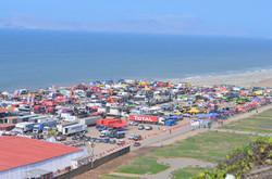 Le camps du Dakkar à Lima