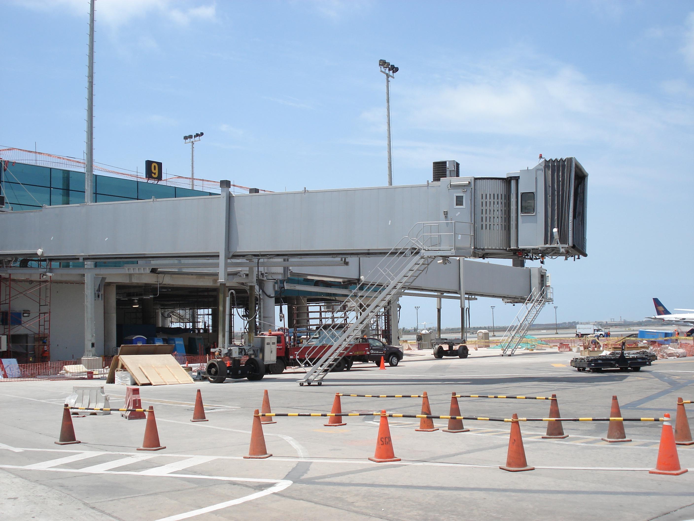 El aeropuerto Internacional