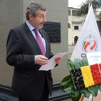 Discour de S.E Koenraad Lenaerts Ambassadeur de Belgique