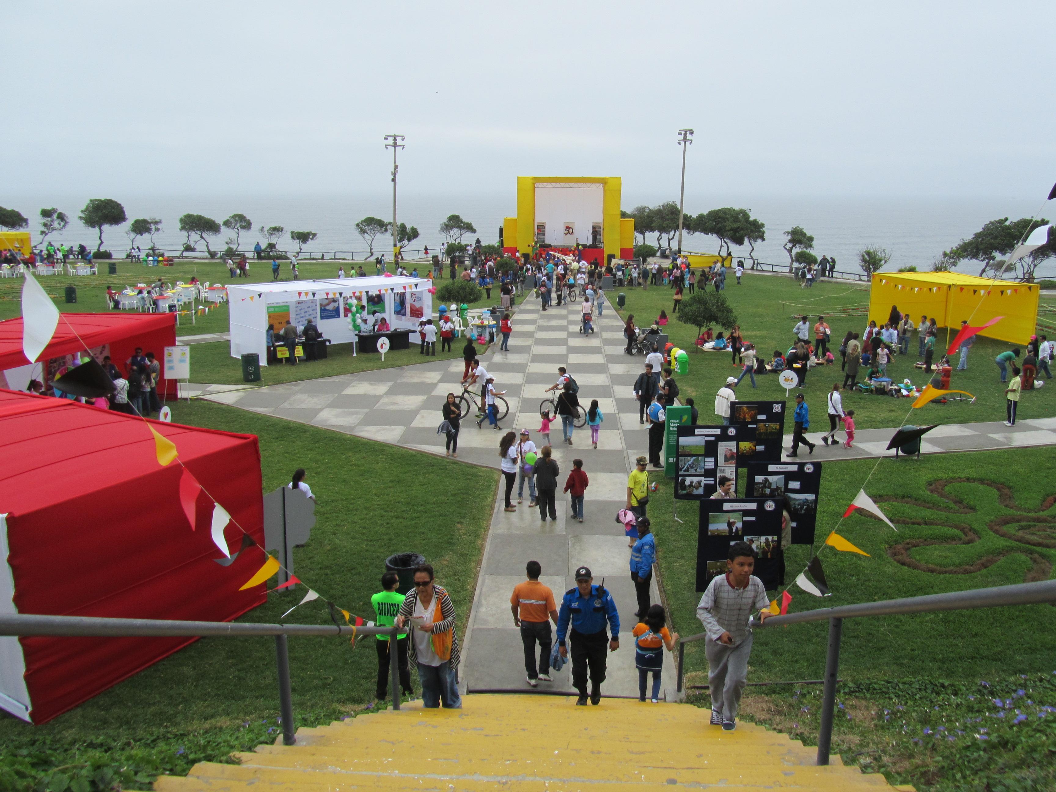 Festival Belge à Miraflores - Lima