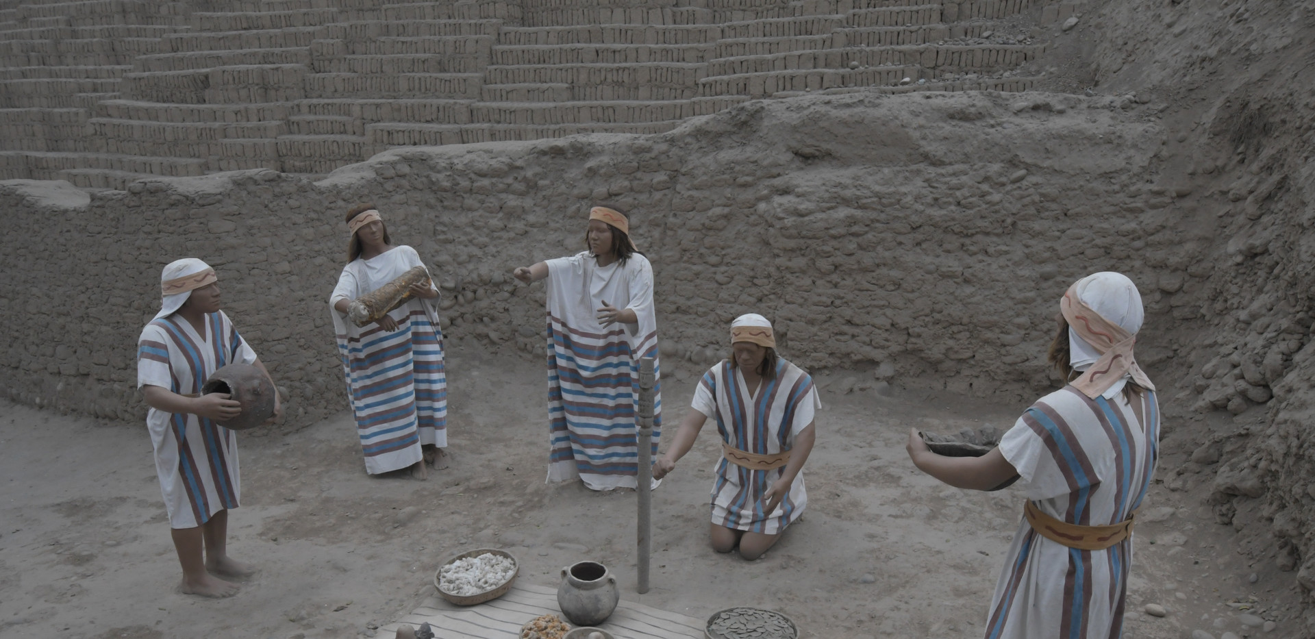 Culture Ishmay (Huaca Pucllana- Miraflores)
