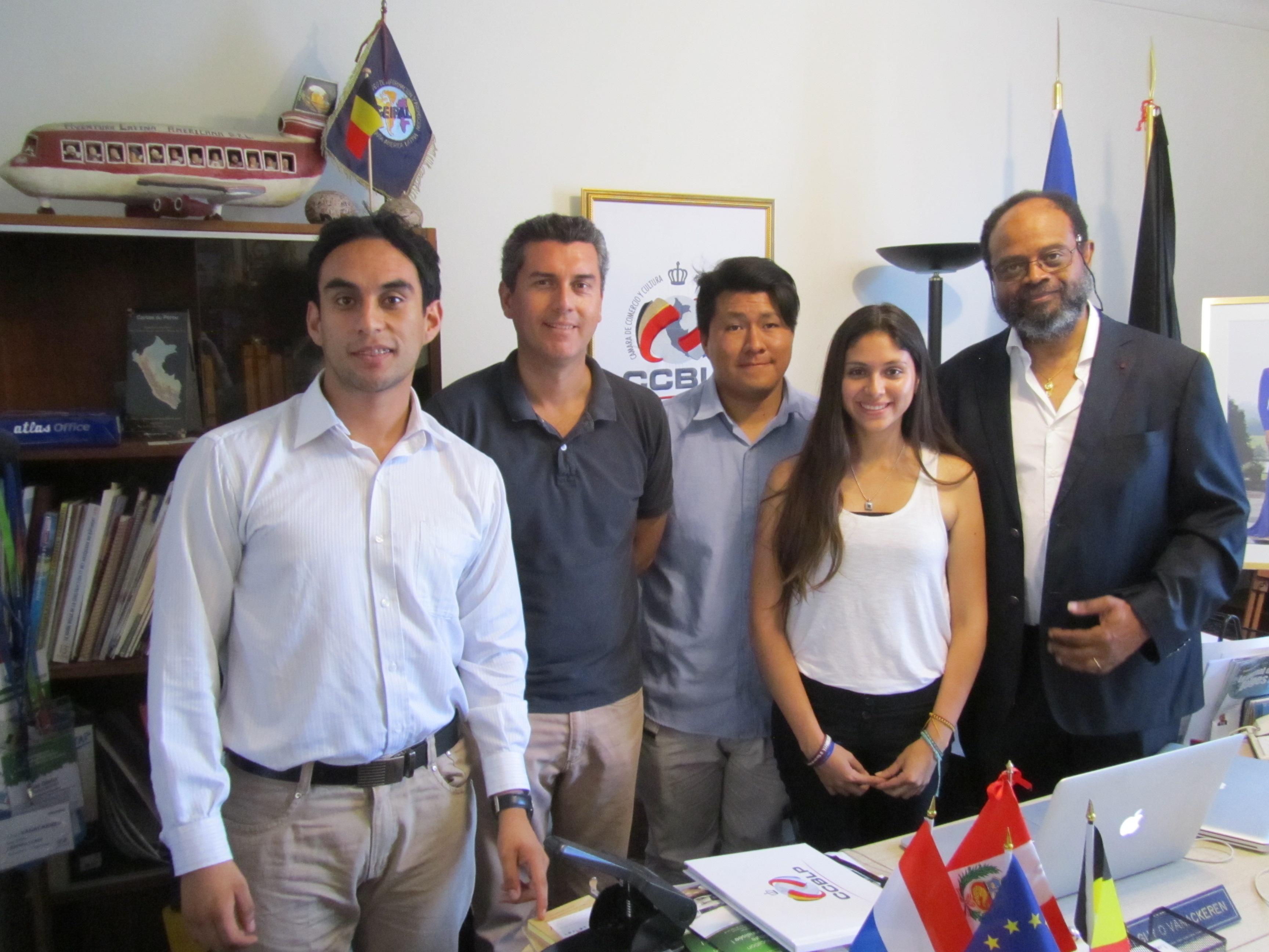 AIESEC, APeBelga et Cámara CCBLP