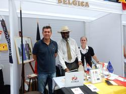 AIESEC Stand of Belgium