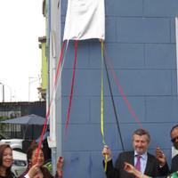 Inauguration de nouvelle plaque