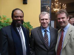 Avec le Ministre Yves Leterme