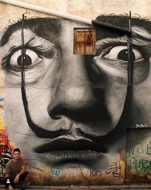 Salvador Dali by Dridali