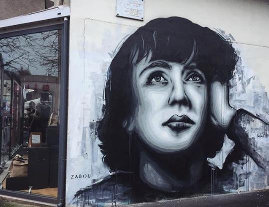 Edith Piaf by Zabou
