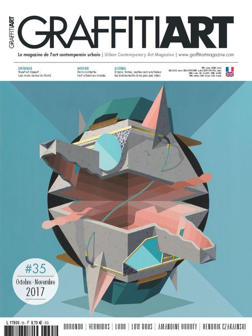 GRAFFITI ART MAGAZINE #35 (FRANCE)