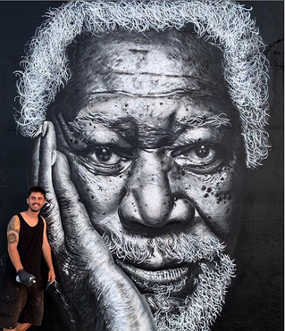Morgan Freeman by Dridali