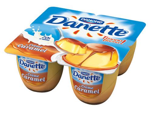 DANETTE X4 CREME CARAMEL
