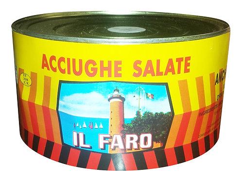 ACCIUGHE SALATE SICILIA - LATTA