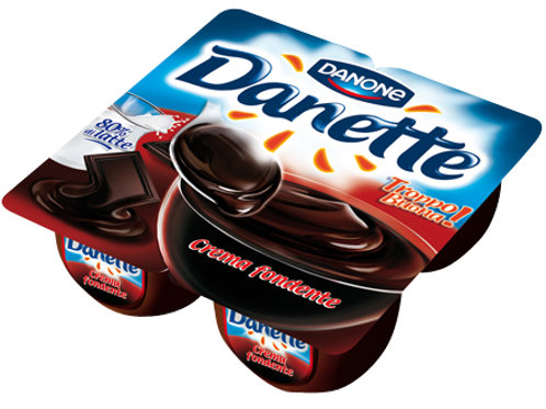 DANETTE X4 CIOCCOLATO FONDENTE