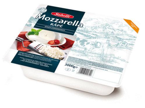 MOZZARELLA T/RAPE CF 12 KG