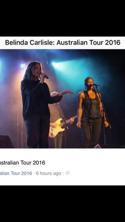Belinda Carlisle Tour 2016